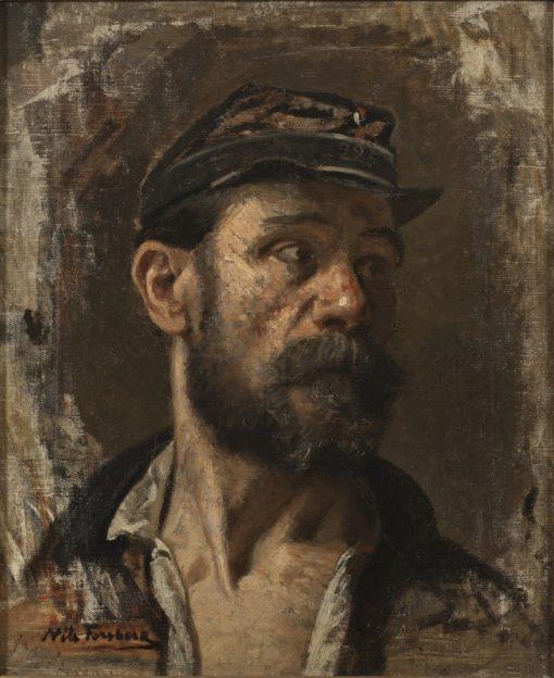 A Communard   Nils Forsberg   Oil Painting