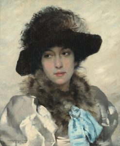 Beatrix | Charles Sprague Pearce | Oil Painting
