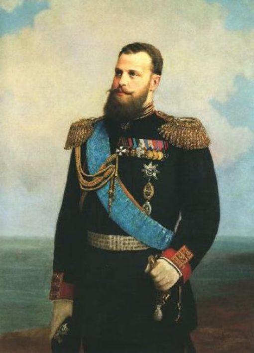 Portrait of Grand Duke Alexei Alexandrovich | Alexei Korzukhin | Oil Painting