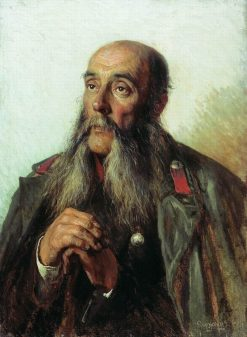 Portrait of a Retired Soldier   Alexei Korzukhin   Oil Painting