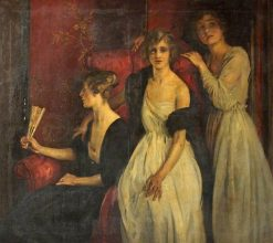 Rouge et noir | William Bruce Ellis Ranken | Oil Painting