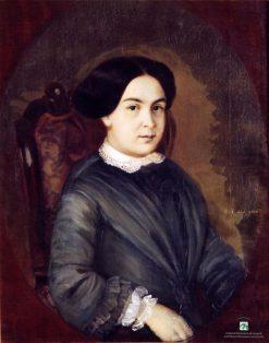 Portrait of E.I. Koksharova   Alexei Korzukhin   Oil Painting