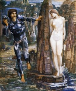 The Rock of Doom | Sir Edward Burne-Jones | Oil Painting