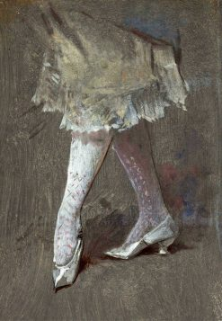 White Stockings | Frederik Henrdik Kaemmerer | Oil Painting