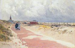 View of Scheveningen | Frederik Henrdik Kaemmerer | Oil Painting