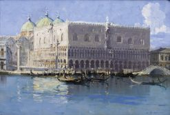 The Doges Palace | Sir Arthur Streeton | Oil Painting