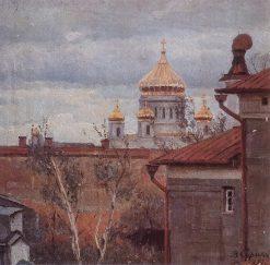 Cityscape | Vasili Ivanovich Surikov | Oil Painting