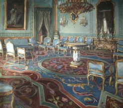 Salon of Charles III | William Bruce Ellis Ranken | Oil Painting