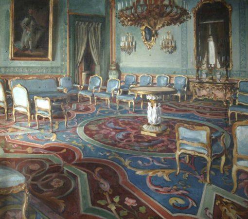 Salon of Charles III | William Bruce Ellis Ranken | Oil Painting