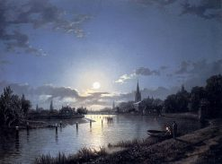Marlow-on-Thames | Henry Pether | Oil Painting