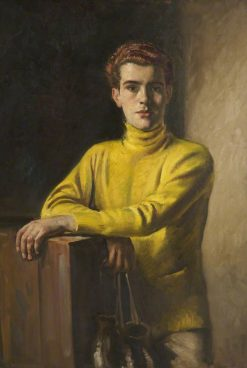 The Amateur Boxer | William Bruce Ellis Ranken | Oil Painting