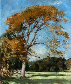 The Yellow Tree | William Bruce Ellis Ranken | Oil Painting