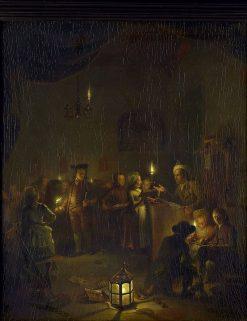 Night School | Michiel Versteegh | Oil Painting