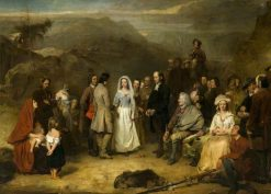 The Marriage of the Covenanter | Alexander Johnston | Oil Painting
