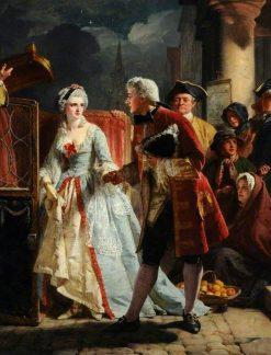 Robin Adair | Alexander Johnston | Oil Painting
