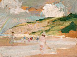 Beach Scene | Emanuel Phillips Fox | Oil Painting