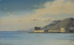 Gulf of Trieste with the Castle of Miramare | Carl Neuman | Oil Painting