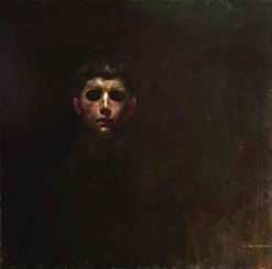 Self Portrait | Gustav Gwozdecki | Oil Painting
