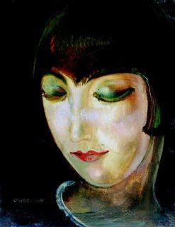 Kiki de Montparnasse   Gustav Gwozdecki   Oil Painting
