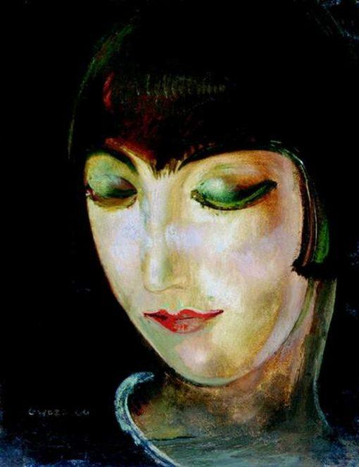 Kiki de Montparnasse | Gustav Gwozdecki | Oil Painting