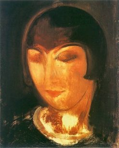 Alice Prin   Gustav Gwozdecki   Oil Painting