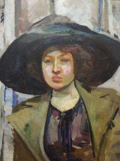 Portrait of Kazimiera Felix | Gustav Gwozdecki | Oil Painting