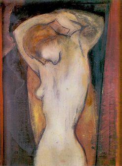 Nude   Gustav Gwozdecki   Oil Painting
