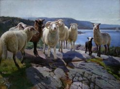 The Enemy Comes | Karl Kristian Uchermann | Oil Painting
