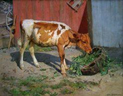 In the Sunshine | Karl Kristian Uchermann | Oil Painting