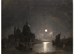 Venice in Moonlight | Henry Pether | Oil Painting
