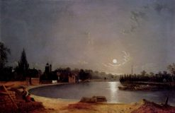 The Thames at Moonlight