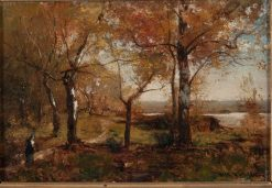 Autumn | Alfred Wahlberg | Oil Painting