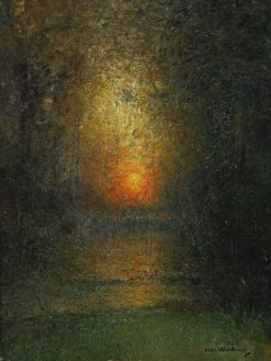 Sunset | Alfred Wahlberg | Oil Painting