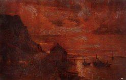 Mondshein | Alfred Wahlberg | Oil Painting