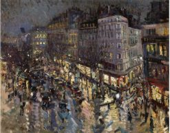 Boulevard des Capucines | Constantin Alexeevich Korovin | Oil Painting