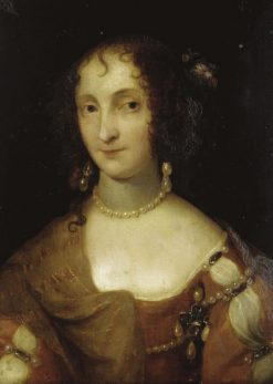 Portrait of a Lady | Theodore Russel | Oil Painting
