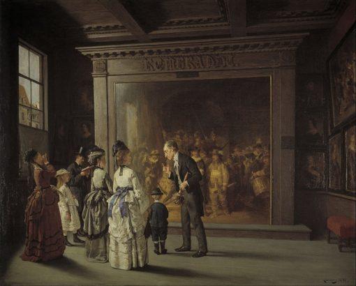 Treppenhuis | August Jernberg | Oil Painting