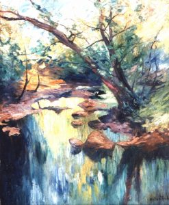 The Riverbank | Allan Osterlind | Oil Painting