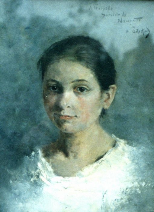Gabrielle Lepinat | Allan Osterlind | Oil Painting