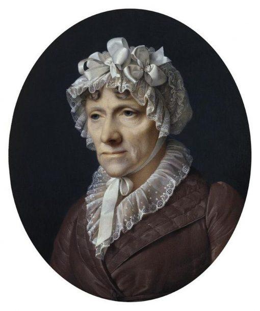 Anna Katherina Magdalena Krafft   Johann Peter Krafft   Oil Painting