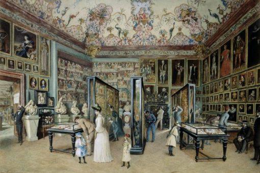 Der Stammbaumsaal | Carl Goebel | Oil Painting