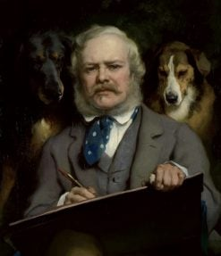 Self Portrait | Sir Edwin Landseer | Oil Painting