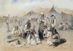 The Gypsy Camp | Carl Goebel | Oil Painting