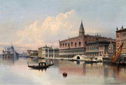 Venice | Karl Kaufmann | Oil Painting