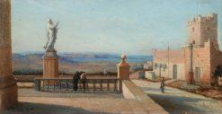 View in Malta | Girolamo Gianni | Oil Painting