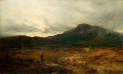 Welsh Moor with Sheep | Alfred Walter Williams | Oil Painting