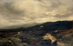 On the Cumberland Fells | Alfred Walter Williams | Oil Painting
