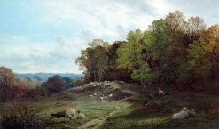 Pasture near Swansea | Alfred Walter Williams | Oil Painting