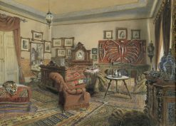 Interior | Carl Goebel | Oil Painting