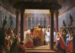 The Baptism of Clovis | Jean Alaux | Oil Painting